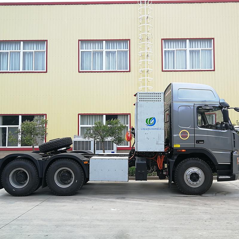 纯电动重卡运输车 大运汽车